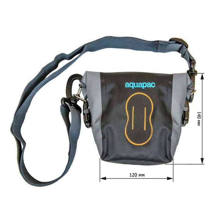 Водонепроницаемая сумка Aquapac 020 - Small Stormproof Camera Pouch (Cool Grey and Black)