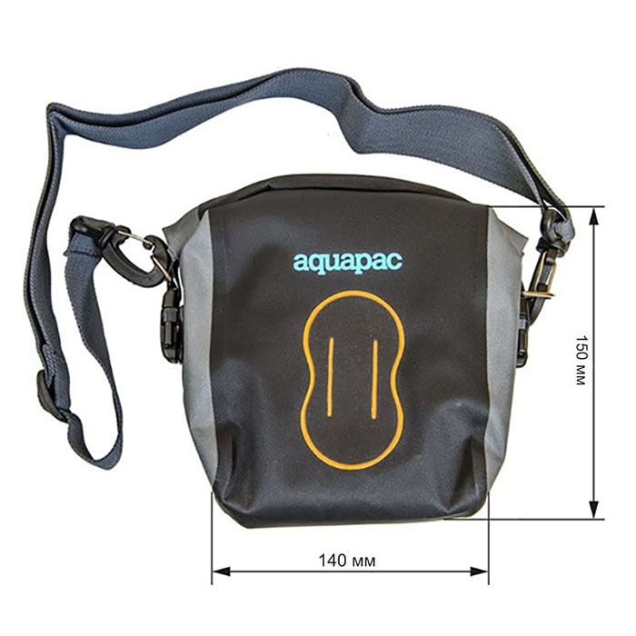 Водонепроницаемая сумка Aquapac 021 - Medium Stormproof Camera Pouch (Cool Grey and Black)