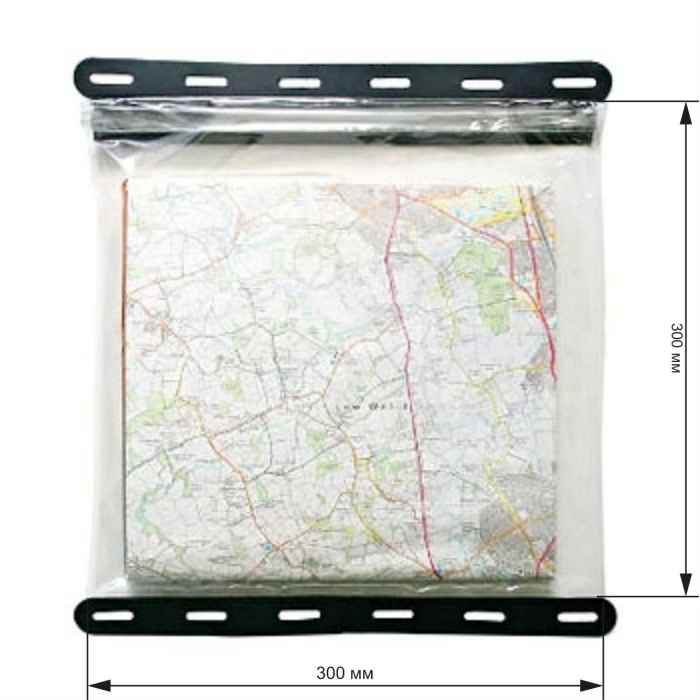 Aquapac 808 - Kaituna Map Case (Clear With Black Border)