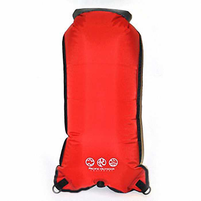 Водонепроницаемый гермомешок Pacific Outdoor Equipment / WXtex Dry Sack Red - 25L.