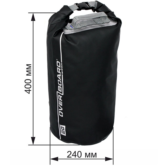 Водонепроницаемая сумка OverBoard OB1005BLK - Waterproof Dry Tube Bag - 20L.