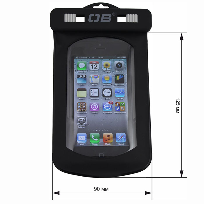 Водонепроницаемый чехол OverBoard OB1008BLK - Waterproof Phone Case.