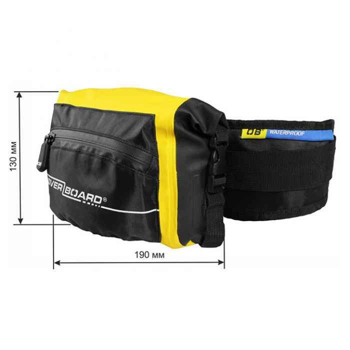 Водонепроницаемая сумка OverBoard OB1049Y - Waterproof Waist Pack - 3L (Yellow)
