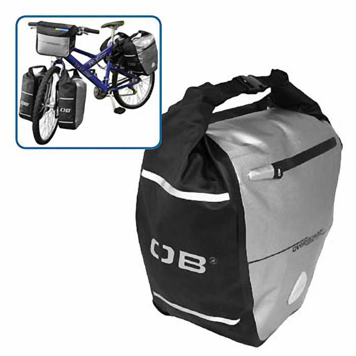 Водонепроницаемая сумка OverBoard OB1077BLK - Waterproof Back Wheel Bike Pannier - 16L.