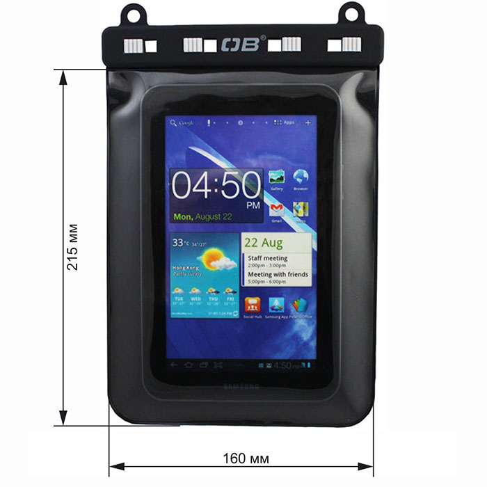 Водонепроницаемый чехол OverBoard OB1082BLK - eBook Reader Kindle Case.