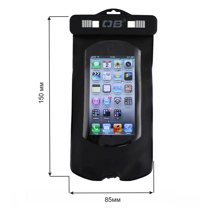 Водонепроницаемый чехол OverBoard OB1098BLK - Waterproof SMART Phone Case (Black)