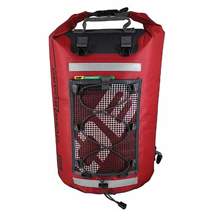 Водонепроницаемая сумка OverBoard OB1118R - Ultra-light Dry Tube Bag - 30L (Red)