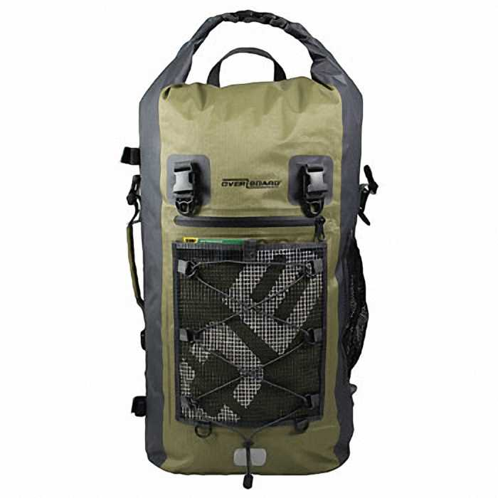 Водонепроницаемый рюкзак OverBoard OB1119G - Ultra-light Waterproof Backpack - 50L.