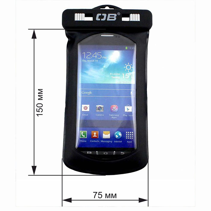 Водонепроницаемый чехол OverBoard OB1156BLK - Waterproof Phone Case and Bike Mount.