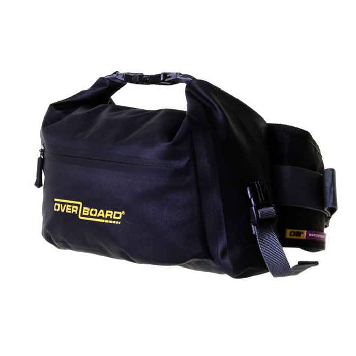 Водонепроницаемая сумка OverBoard OB1164BLK - Pro-Light Waterproof Waist Pack - 6 Litres
