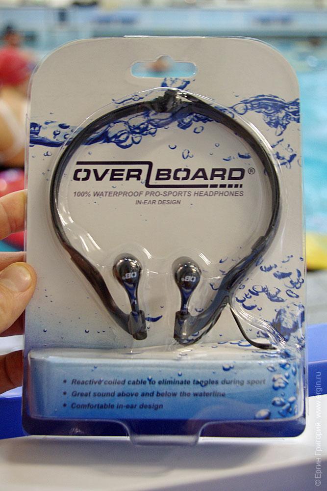 Герметичные наушники OverBoard OB1063BLK