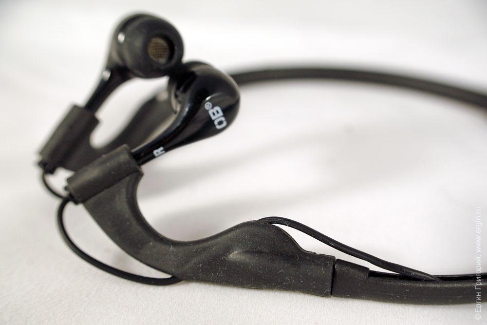 Герметичные наушники OverBoard OB1063BLK - заушник